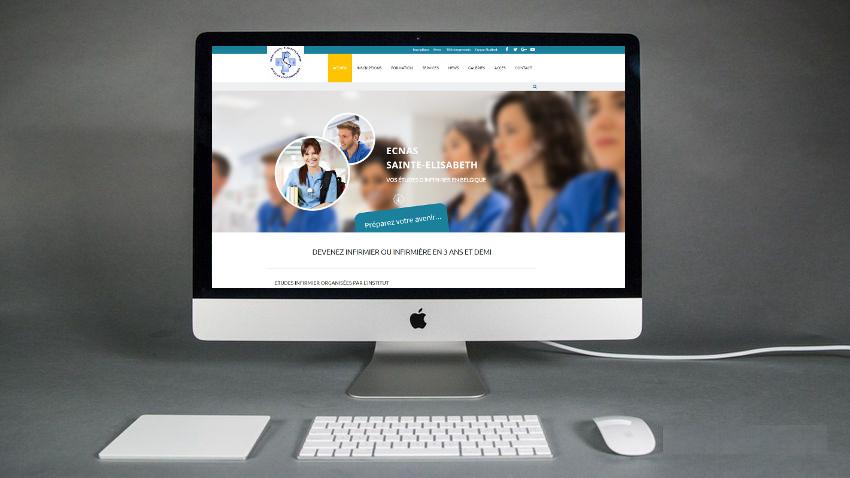 Création site internet Ecole Infirmière