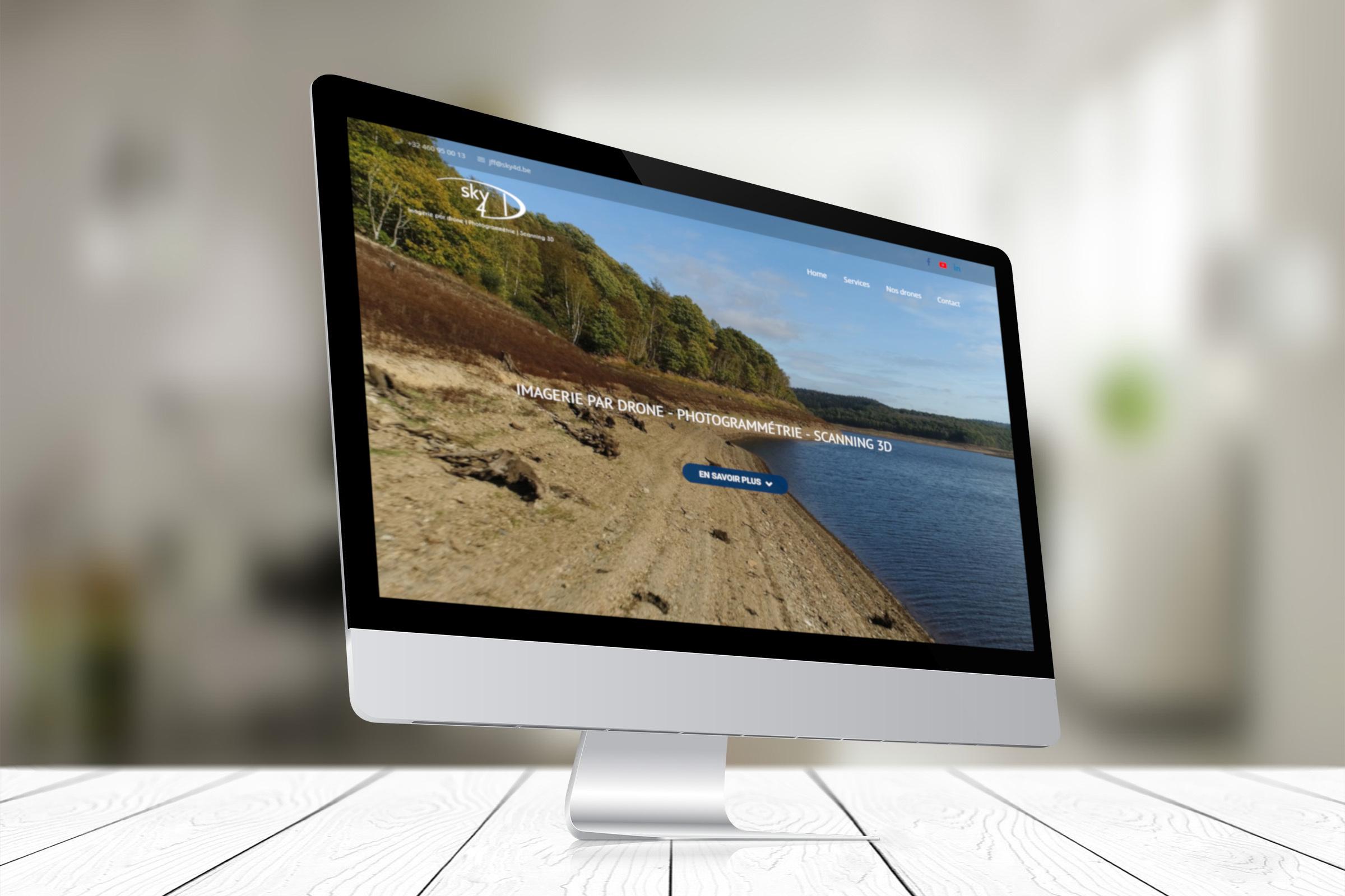 Réalisation Site Web Sky4D
