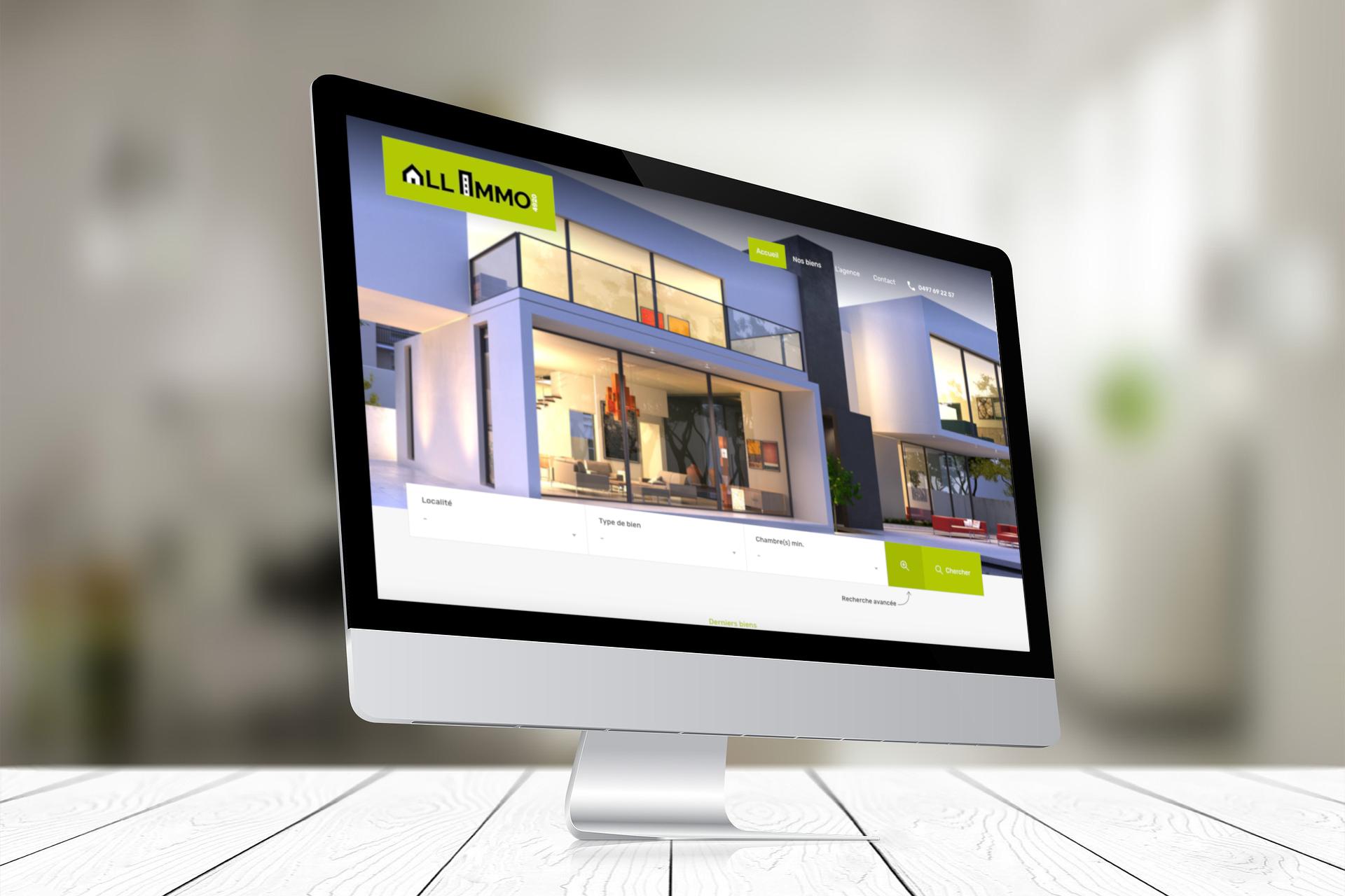 Création site Web Agence Immobilière