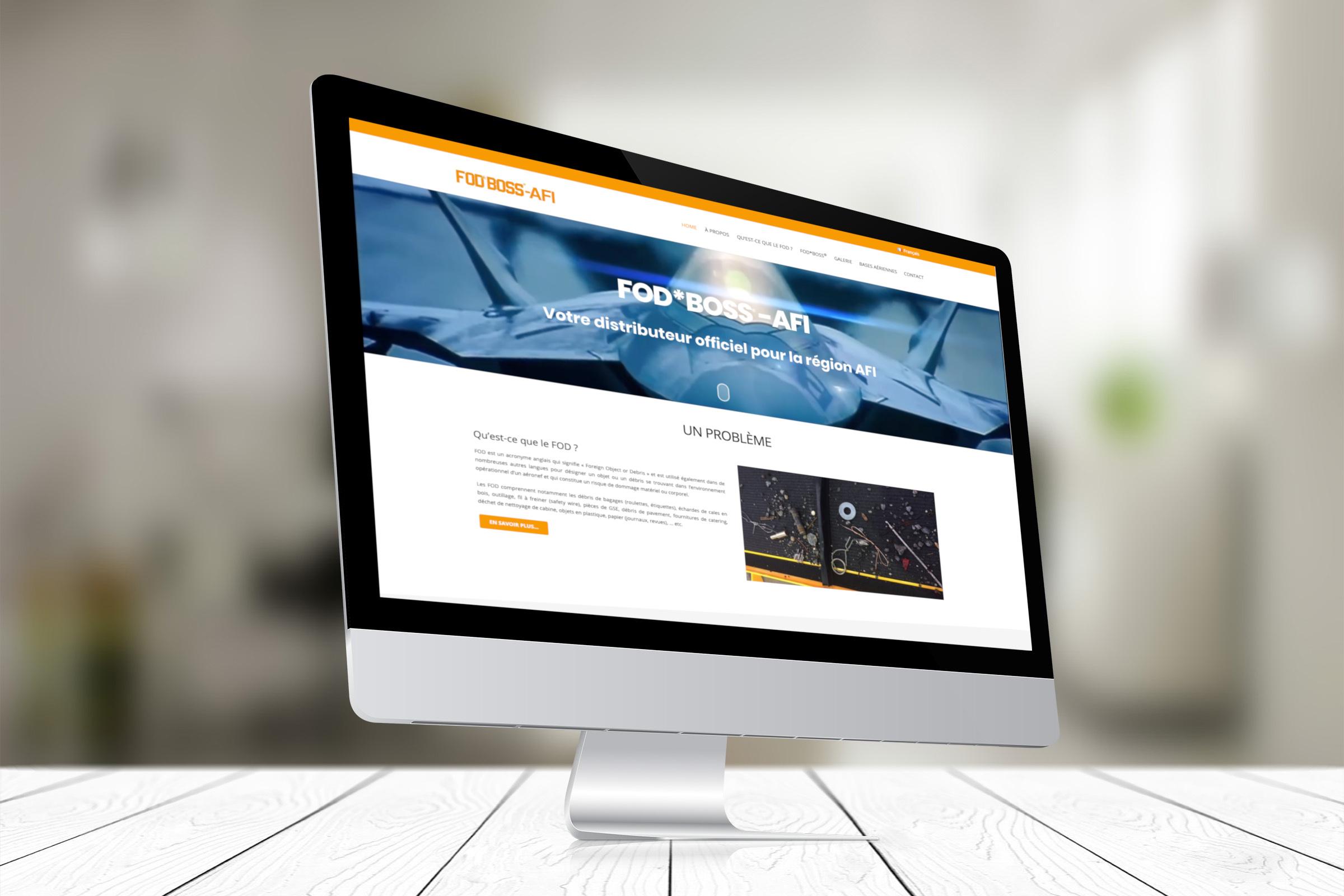 Création site internet FODBOSS