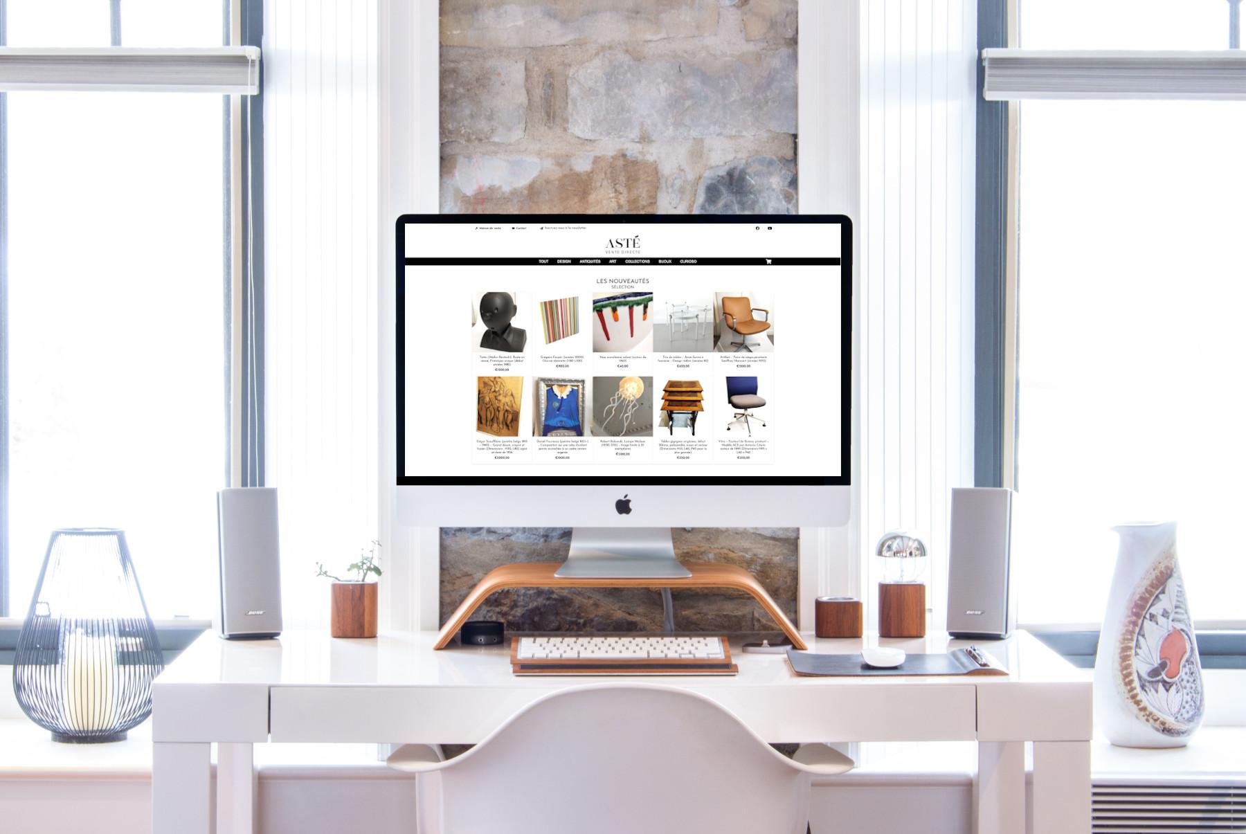 boutique en ligne pour maison de ventes