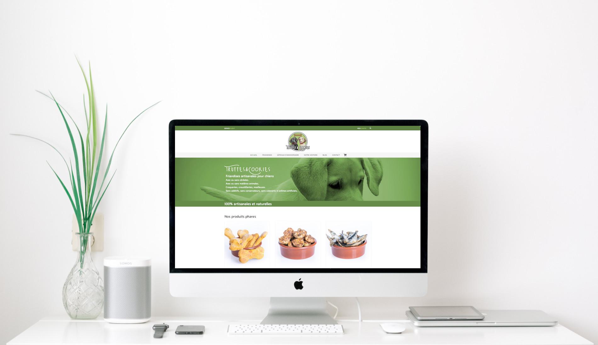 boutique en ligne truffes and cookies